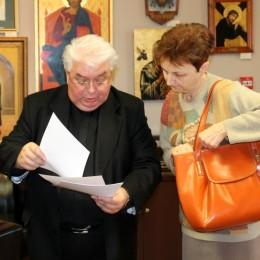 """Instytut Prymasa Józefa Glempa w Inowrocławiu - Wykład """"Dialog międzyreligijny"""" wygłosił bp Jan Tyrawa"""